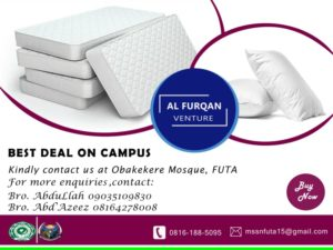 Alfurqan Ventures_ Mattress and Pillows