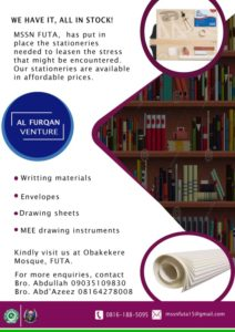 Alfurqan Ventures_ Writing Materials