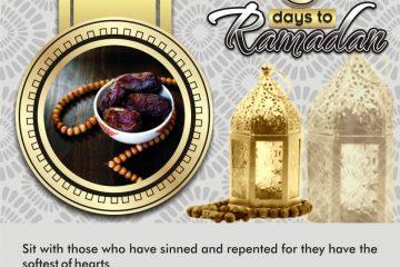 5 Days to Ramadan