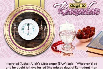 6 Days to Ramadan