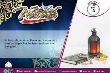 Ramadan Day 03