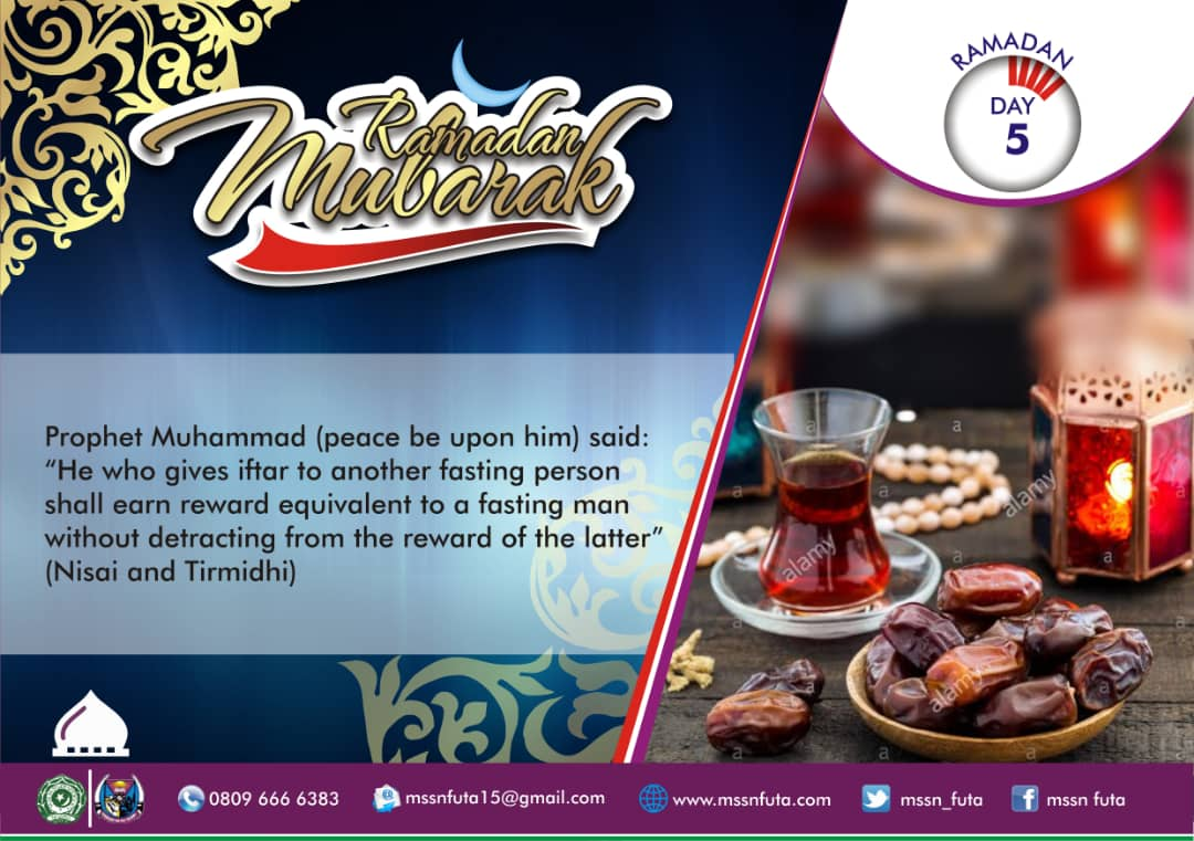 Ramadan Day 05 Dua