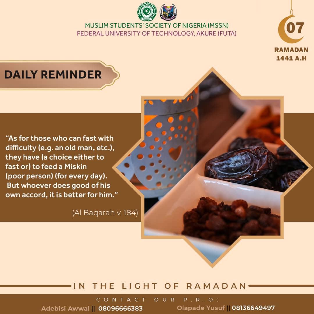 Ramadan Day 07