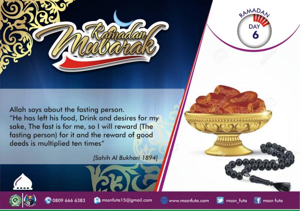 Ramadan Day 06