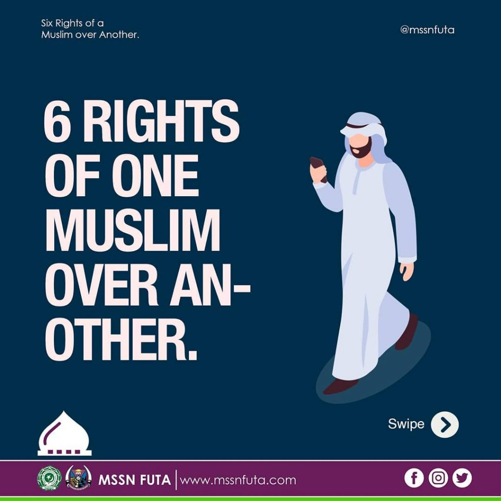Rights of a Muslim on Another Muslim - MSSN FUTA