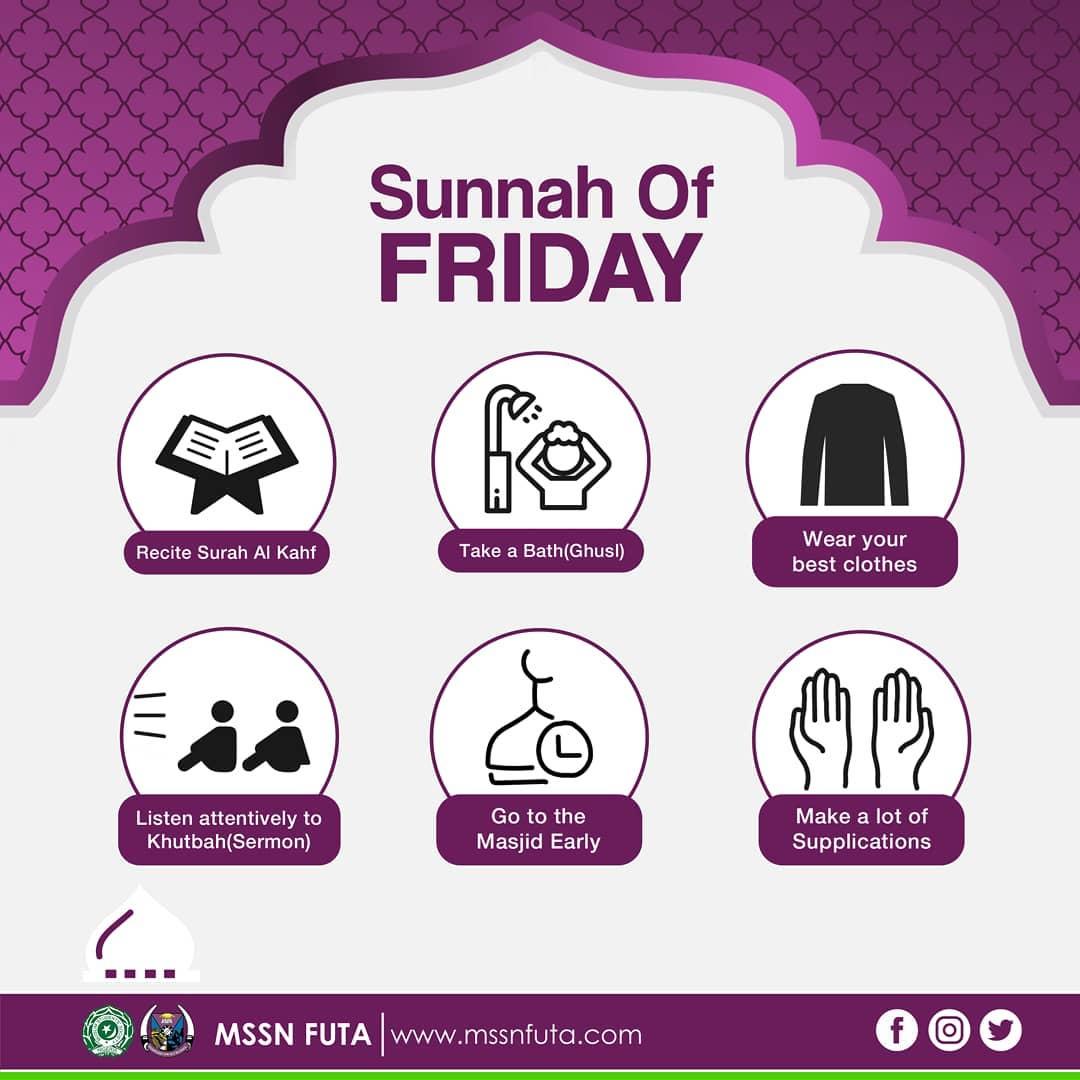 Sunnah of Friday – MSSN FUTA