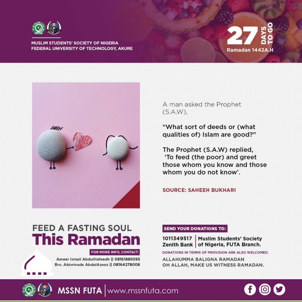 27days to Ramadan