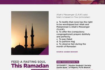 30days to Ramadan MSSN FUTA