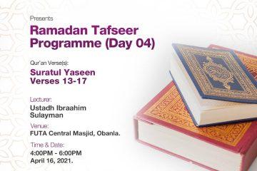 Ramadan Tafseer MSSN FUTA