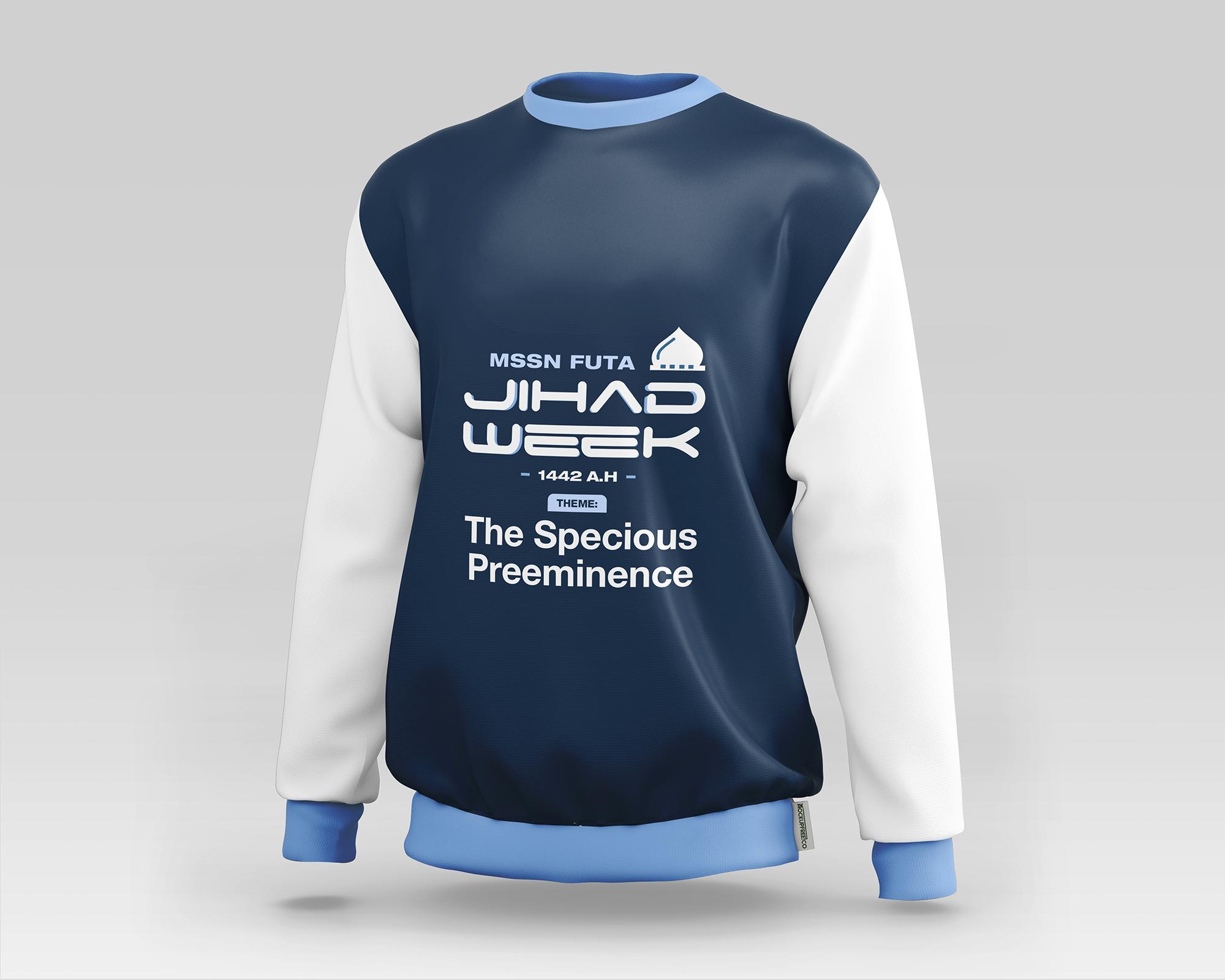 JIHAD WEEK Sweatshirt Mockup Front Option 2