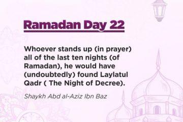 Ramadan Quotes Day 22