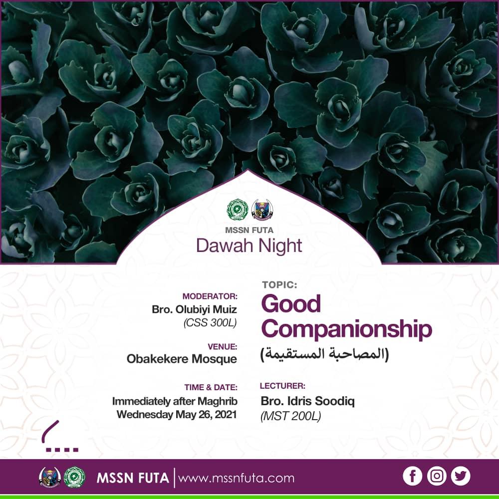 dawah 02 good companionship