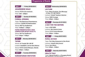 Jihad Week full program